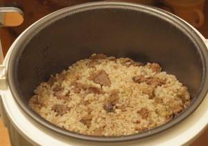 Перловая каша с мясом в мультиварке рецепт с фото