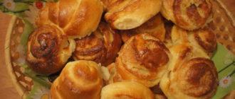 рецепт вкусных дрожжевых булочек