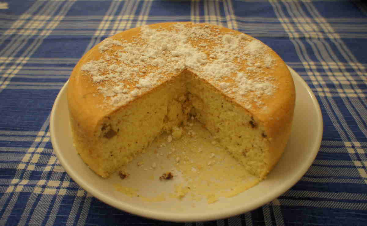 самый простой рецепт бисквита в мультиварке