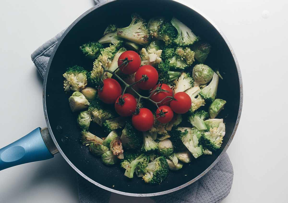 как жарить цветную капусту