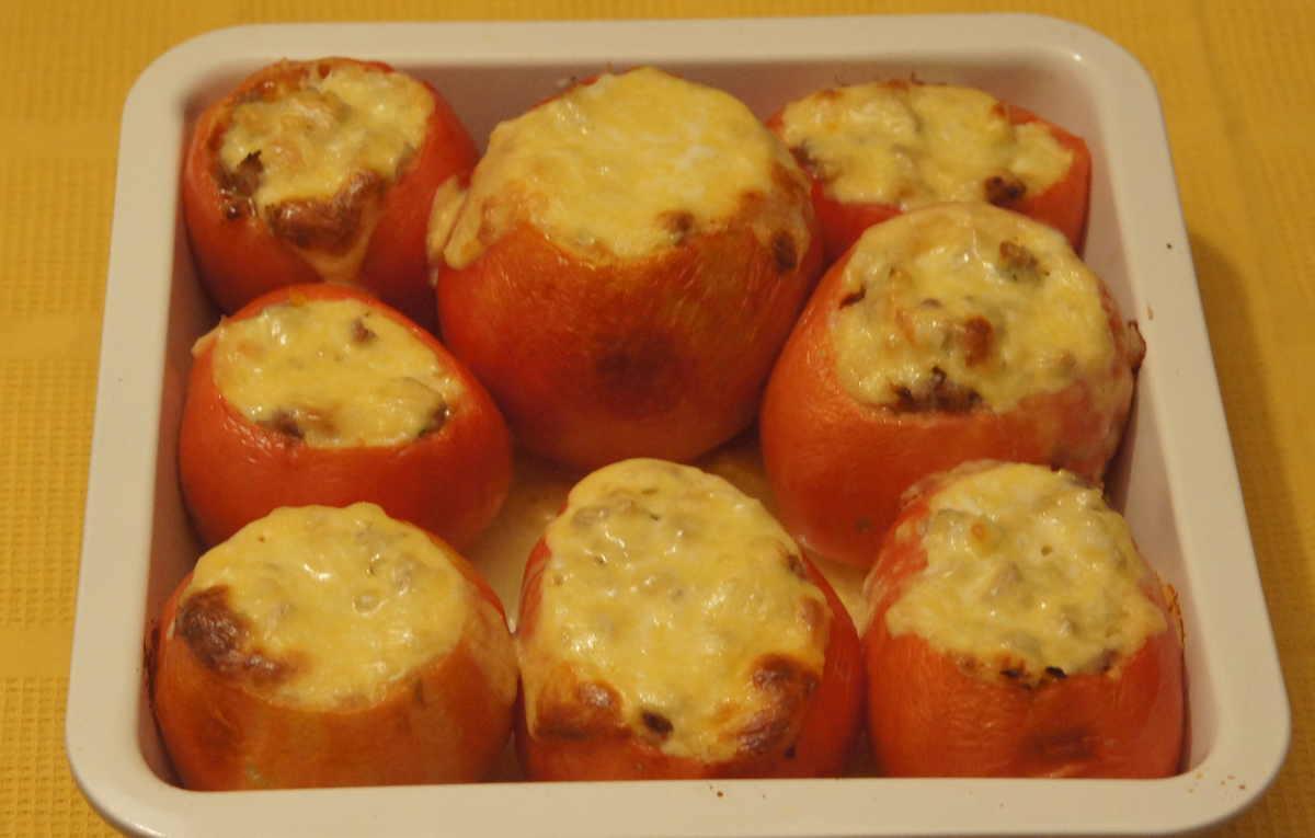 фаршированные помидоры