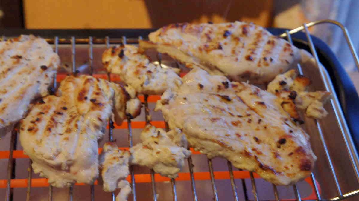 куриное филе на гриле