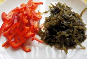"""салат с морской капустой """"Дальневосточный"""""""