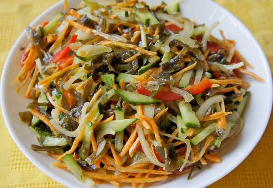 салат Дальневосточный