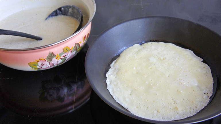 как приготовить тесто для блинов