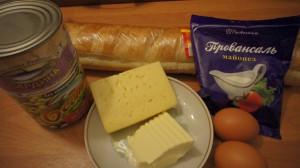горячие бутерброды с консервой