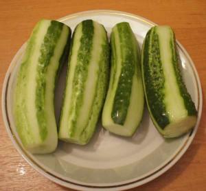 салат из огурцов по-японски